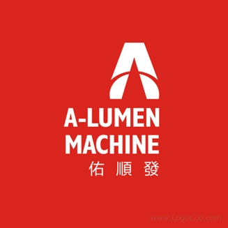 A-LUMEN MACHINE标志设计