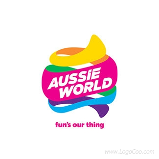 澳洲世界(Aussie World)主题公园LOGO